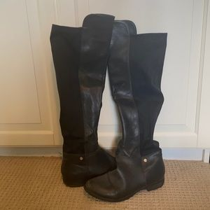 ✨steve madden leather boots✨